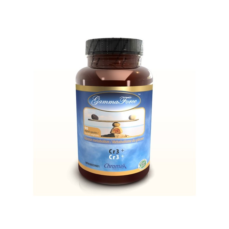 Picolinate de chrome trivalent 90 capsules